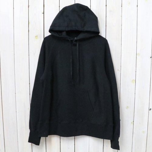 ENGINEERED GARMENTS『Raglan Hoody-Fleece』(Black)