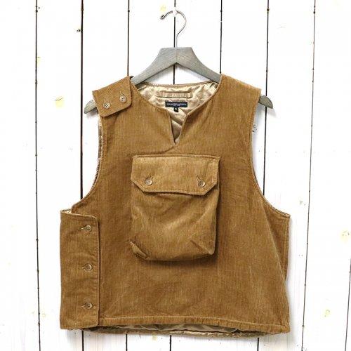 ENGINEERED GARMENTS『Cover Vest-8W Corduroy』(Chestnut)