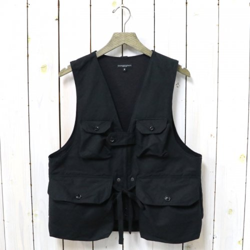 ENGINEERED GARMENTS『Game Vest-Double Cloth』(Black)
