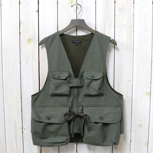 ENGINEERED GARMENTS『Game Vest-Double Cloth』(Olive)
