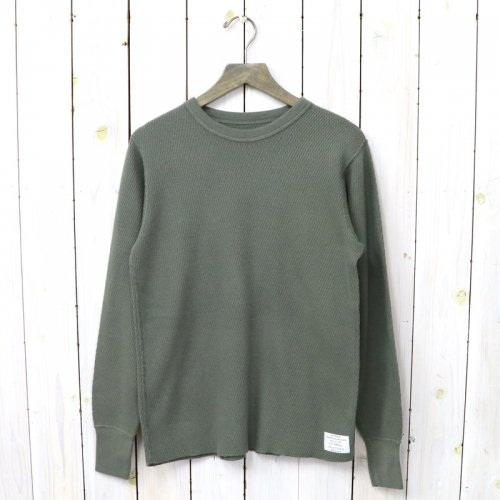 ANATOMICA『THERMAL L/S TEE』(Olive)