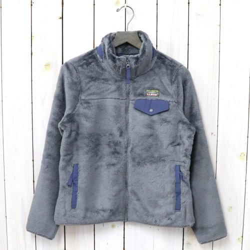 L.L.Bean『Hi-Pile Fleece Jacket』(Platinum/Raw Indigo)