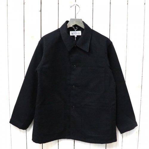ENGINEERED GARMENTS WORKADAY『Utility Jacket-Acrylic Wool Serge』(Black)