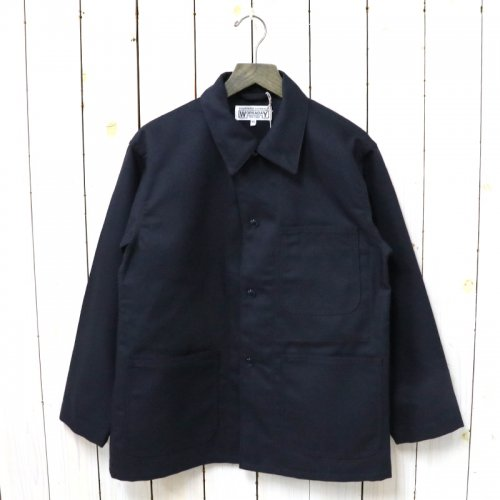 ENGINEERED GARMENTS WORKADAY『Utility Jacket-Acrylic Wool Serge』(Dk.Navy)