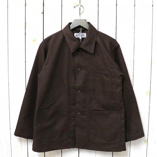 ENGINEERED GARMENTS WORKADAY『Utility Jacket-Acrylic Wool Serge』(Brown)