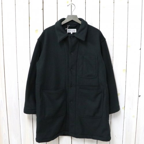 ENGINEERED GARMENTS WORKADAY『Shop Coat-Heavy Fleece』(Black)