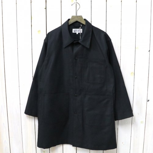 ENGINEERED GARMENTS WORKADAY『Shop Coat-Reversed Sateen』(Black)