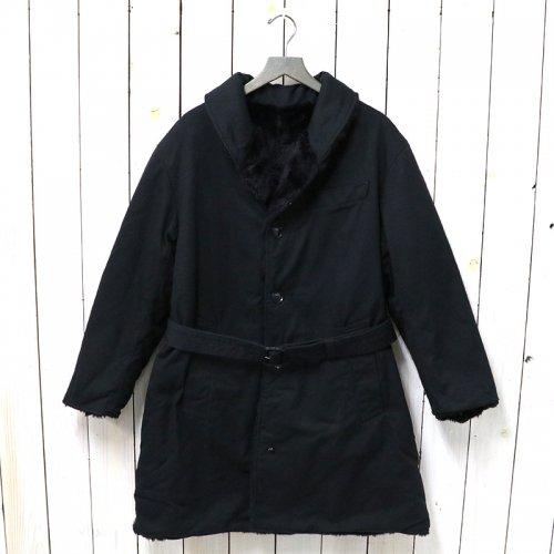ENGINEERED GARMENTS『Shawl Collar Reversible Coat-Cotton Heavy Twill』(Black)