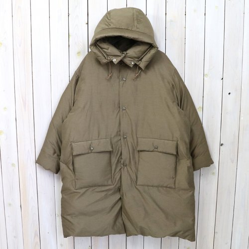 Kaptain Sunshine『Eskimo Down Coat』(Khaki)