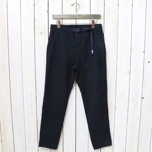 THE NORTH FACE PURPLE LABEL『Polyester Serge Field Pants』(Navy)