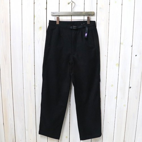 THE NORTH FACE PURPLE LABEL『Polyester Flannel Field Pants』(Black)