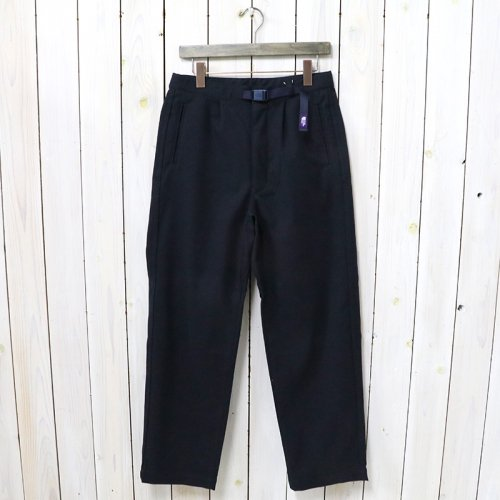 THE NORTH FACE PURPLE LABEL『Polyester Flannel Field Pants』(Navy)