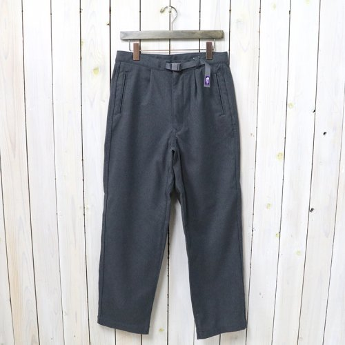 THE NORTH FACE PURPLE LABEL『Polyester Flannel Field Pants』(Gray)