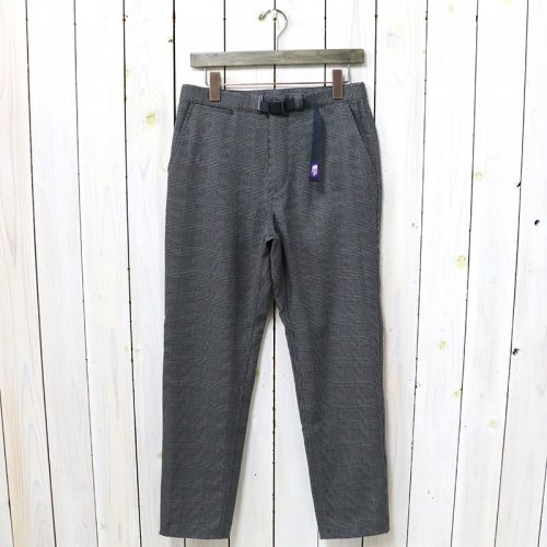 【SALE特価50%off】THE NORTH FACE PURPLE LABEL『Polyester Check Field Pants』(Gray)