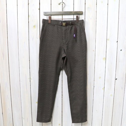 THE NORTH FACE PURPLE LABEL『Polyester Check Field Pants』(Brown)