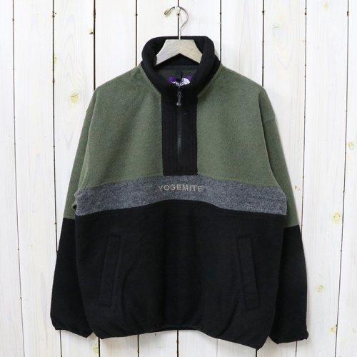 THE NORTH FACE PURPLE LABEL『Half Zip Sweater』(Khaki)