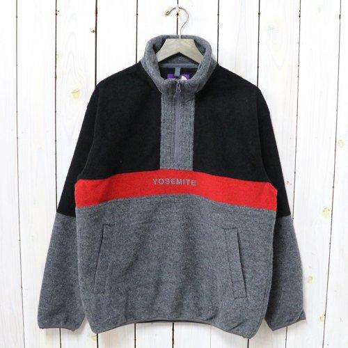 THE NORTH FACE PURPLE LABEL『Half Zip Sweater』(Gray)