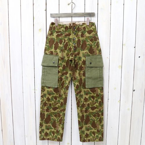 BUZZ RICKSON'S『CAMOUFLAGE REVERSIBLE TROUSERS(MOD.)』