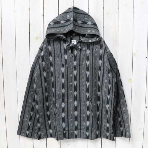 SOUTH2 WEST8『Mexican Parka-Cotton Cloth/Ikat Pattern』(Black)