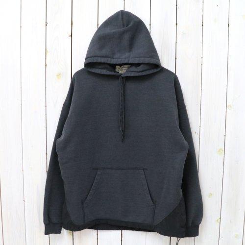 REMI RELIEF×BRIEFING『T/C裏起毛プルパーカ』(BLACK)