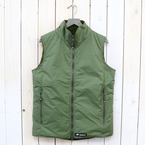 【SALE特価60%off】Buffalo『REVERSIBLE BELAY VEST』(OLIVE/OLIVE)