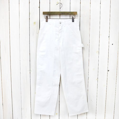 【SALE特価70%off】DEAD STOCK『UNIVERSAL OVERALL DOUBLE FRONT PAINTER PANTS』(WHITE)