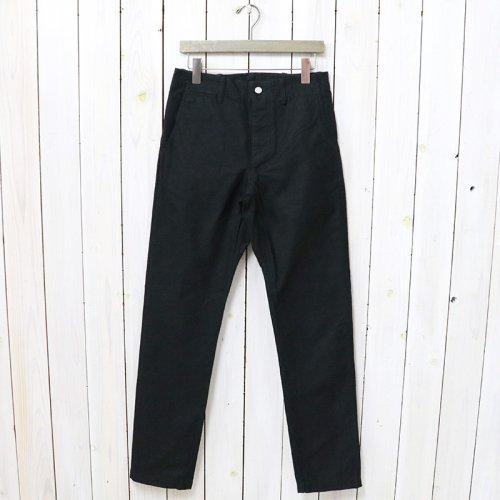 SASSAFRAS『SPRAYER PANTS(BACK SATIN)』(BLACK)