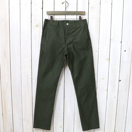 SASSAFRAS『SPRAYER PANTS(BACK SATIN)』(OLIVE)