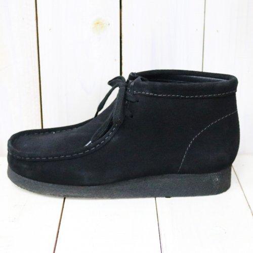 Clarks『Wallabee Boot』(Black Suede)