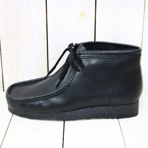 【SALE特価40%off】Clarks『Wallabee Boot』(Black Leather)