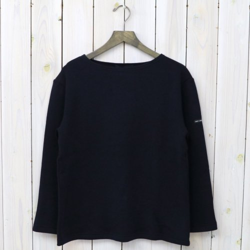 SAINT JAMES『DOUBLEFACE SWEATER』(NAVY)