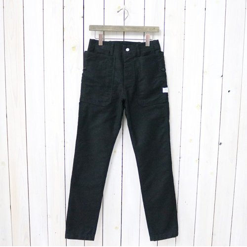 SASSAFRAS『FALL LEAF SPRAYER PANTS(MOLESKIN)』(BLACK)