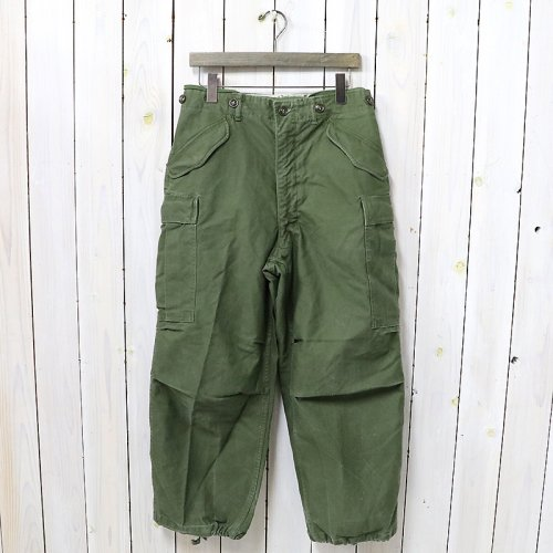 MILITARY USED『M-51 FIELD PANTS』(OLIVE GREEN)