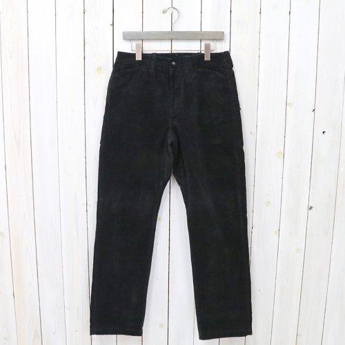 SASSAFRAS『DIGGIN PANTS(12w CORDUROY)』(BLACK)