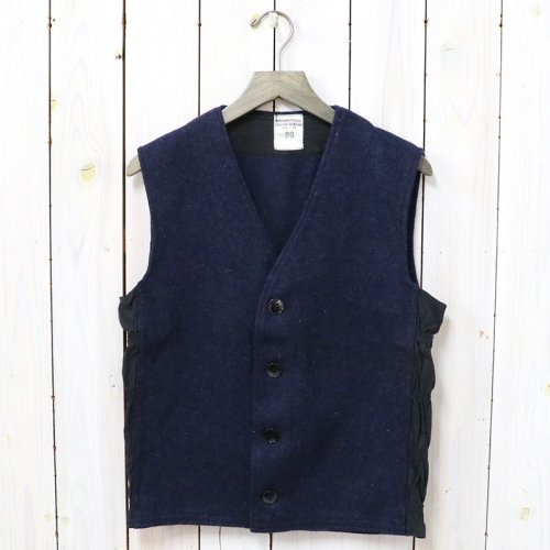 DEAD STOCK『FRENCH ARMY WOOL BLUE VEST』