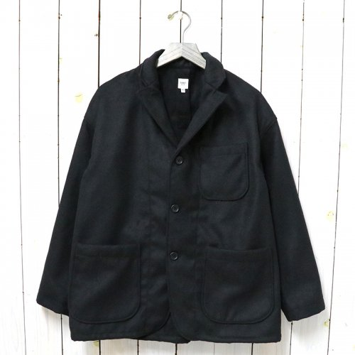 RANDT『Studio Jacket-Fake Wool』(Black)