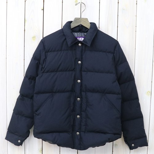 THE NORTH FACE PURPLE LABEL『Midweight 65/35 Stuffed Shirt』(Dark Navy)
