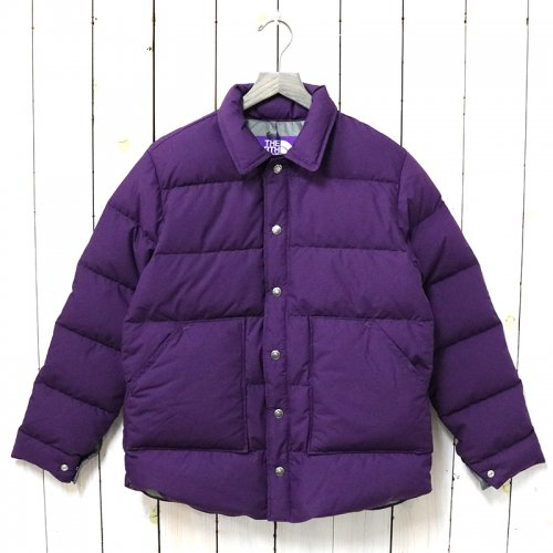 THE NORTH FACE PURPLE LABEL『Midweight 65/35 Stuffed Shirt』(Purple)