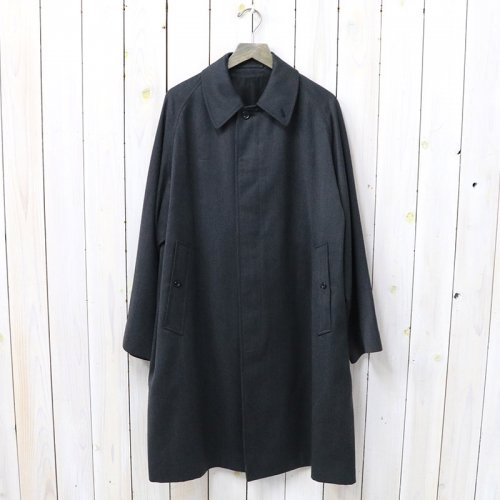ANATOMICA『SINGLE RAGLAN VI COVER CLOTH』(CHARCOAL)