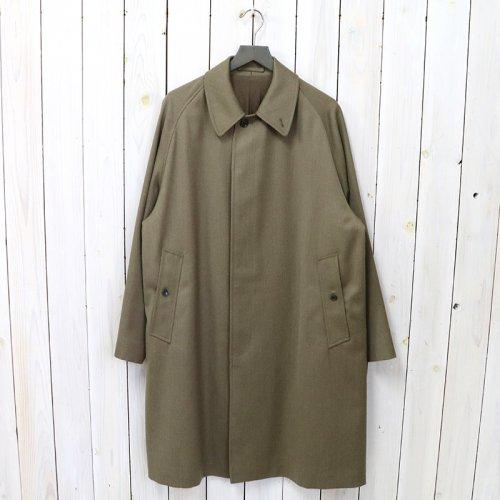 【期間限定SALE20%off】ANATOMICA『SINGLE RAGLAN VI COVER CLOTH』(LOVAT)