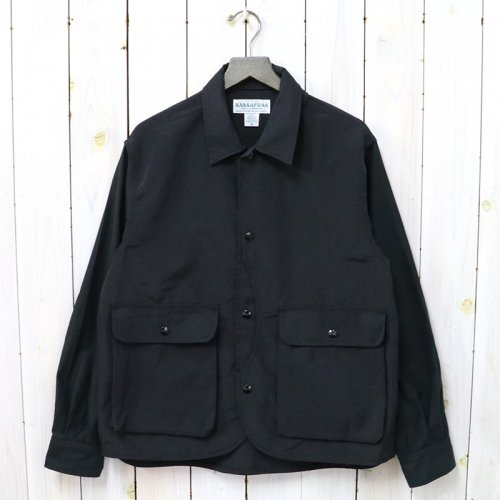 SASSAFRAS『PLANT HUNTER JACKET(60/40)』(BLACK)