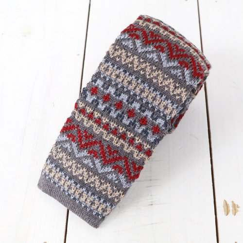 【SALE特価50%off】Brooks Brothers『TIE KNIT FALL FAIR ISLE』(Gray)