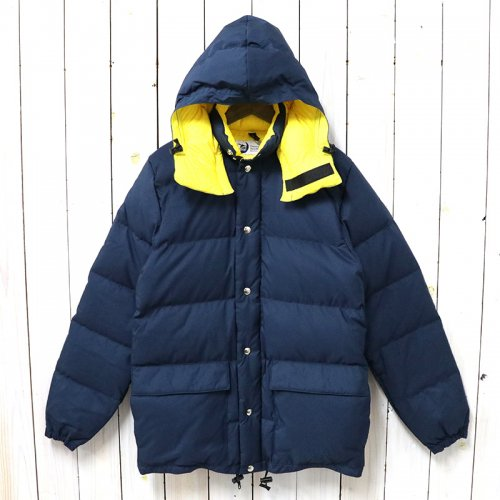 Crescent Down Works『Classico Down Parka』(Navy/Gold)