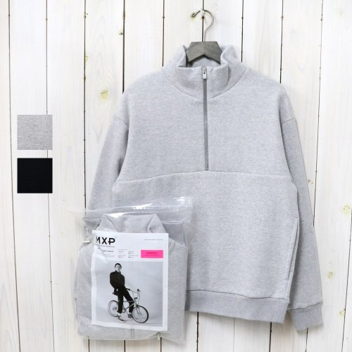 MXP『HEAVY WARM SWEAT HALF ZIP』