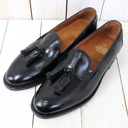 Brooks Brothers『ALDEN CALF TASSEL LOAFER』(BLACK)