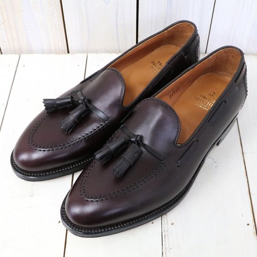 Brooks Brothers『ALDEN CALF TASSEL LOAFER』(BURGUNDY)