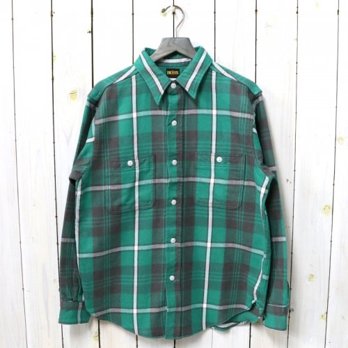 BIG YANK『U64 SHIRTS COTTON FLANNEL』(GREEN CHECK)