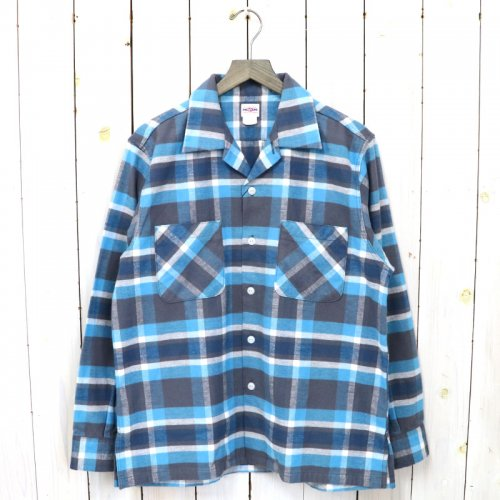 BIG YANK『U54 SHIRTS COTTON FLANNEL』(BLUE CHECK)