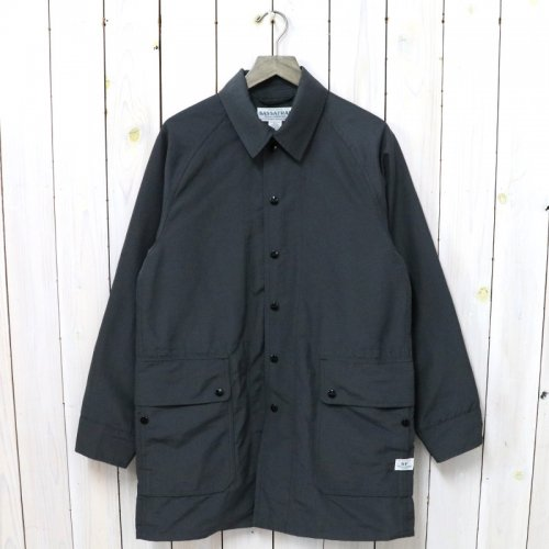 SASSAFRAS『FALL LEAF COAT +(60/40)』(CHARCOAL)