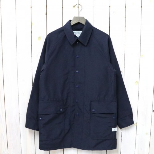 SASSAFRAS『FALL LEAF COAT +(60/40)』(NAVY)